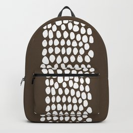 Friends come in different shapes. Backpack