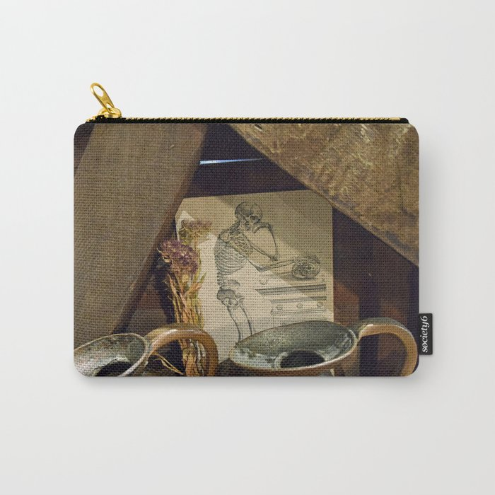 Thoughtful bones. Carry-All Pouch