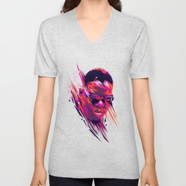 The Notorious B.I.G: Dead Rappers Serie Unisex V-Neck