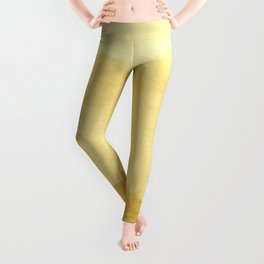 Ombre Waves in Gold Leggings