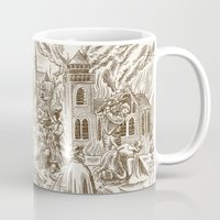theatre Mugs featuring Theatre of Cruelty by Mary Slumber