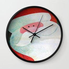 Santa Face Wall Clock
