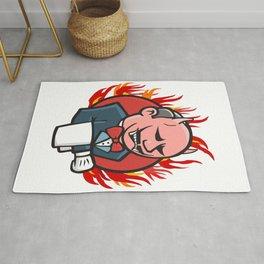 Jenkins on Fire Rug