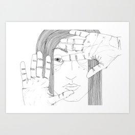 square Art Print