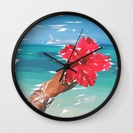 end of summer I Wall Clock