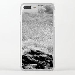 mucha fuerza Clear iPhone Case