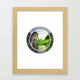 Trang An Ninh Binh Vietnam Landscape Framed Art Print