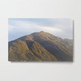 Lake Como Hills at Sunset Metal Print