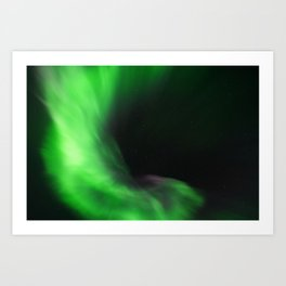 The Northern Lights 12 Art Print