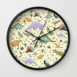 Dinosaurs! Wall Clock