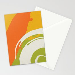 Colorful Brush Strokes AP176-7 Stationery Cards