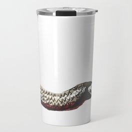 Red Bellied Black Snake Travel Mug