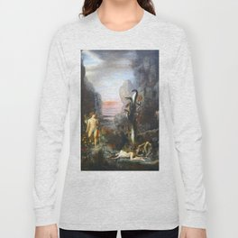 The Lernaean Hydra by Gustave Moreau (1876) Long Sleeve T-shirt