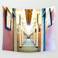library Wall Tapestries featuring San Juan Capistrano Library by PRE Media