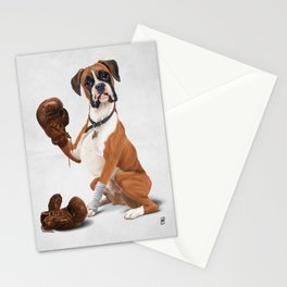 The Boxer (Wordless) Stationery Cards