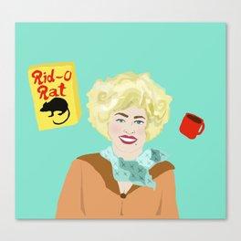 Dolly Parton: 9 to 5 (Doralee) Canvas Print