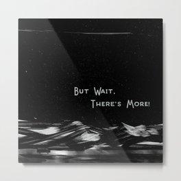 But Wait, There's More // Art Print // Van Life Metal Print