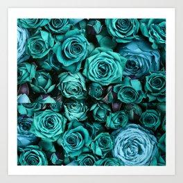Le Vie En Rose Art Print