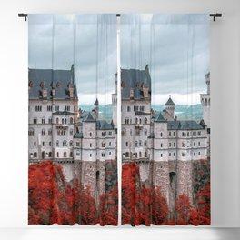 Breathtakingly Beautiful Fairytale Neuschwanstein Castle Schwangau Bavaria Germany Europe Ultra HD Blackout Curtain