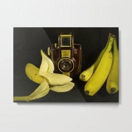 Bilora Blitz Boy and Bananas Metal Print