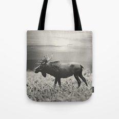 Moose Walk  Tote Bag