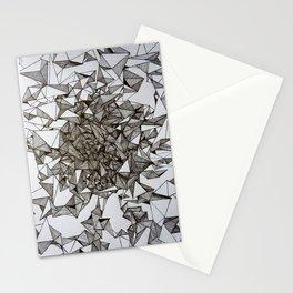 triangular foldings Stationery Cards