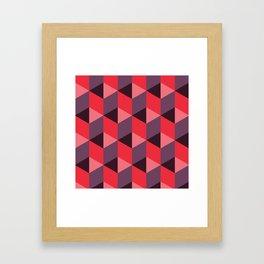 Queen of Hearts [isometrix 013] Framed Art Print