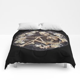 In Memoriam Skeleton  Comforters