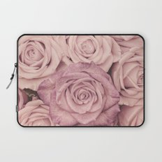 Some people grumble - Pink rose pattern- roses Laptop Sleeve