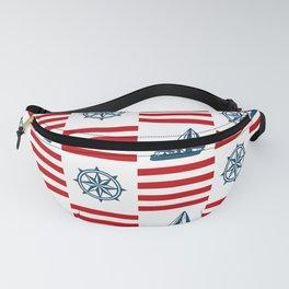 Nautical pattern Fanny Pack