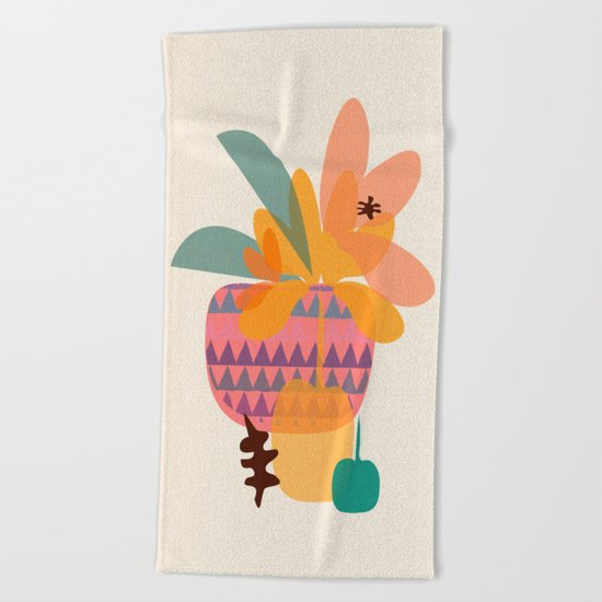 Tropical Beach Towel