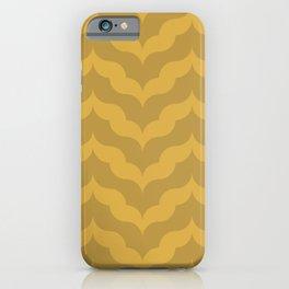 Juliet in Gold iPhone Case