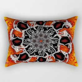 Clamoring for Attention Rectangular Pillow