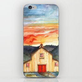 Country Sunset iPhone Skin