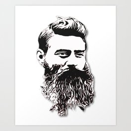 Ned Kelly Art Print