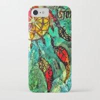 dream catcher iPhone & iPod Cases featuring Dream Catcher by BeachStudio