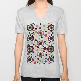Psychedelic Eye Unisex V-Neck