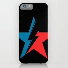 Bowie Star black iPhone 6s Slim Case