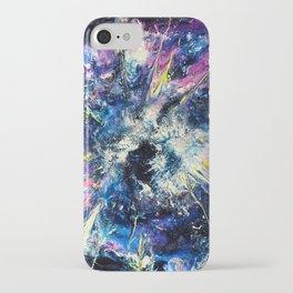 Cosmic Birth v.1 iPhone Case