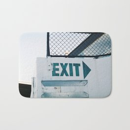 Exit Bath Mat
