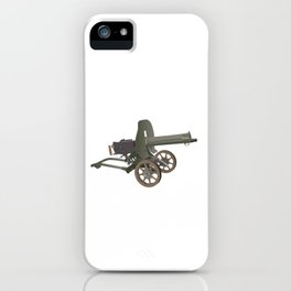 Maxim Gun iPhone Case