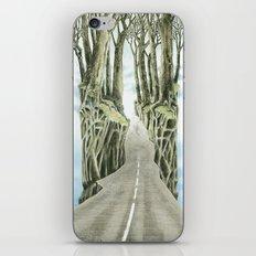 Escape attempt iPhone & iPod Skin