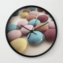 CHOCOLATE CANDY PHOTOGRAPH Wall Clock