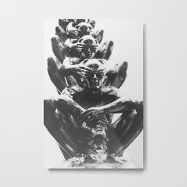 Your Eyes Are Closed Anyway Metal Print