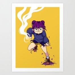 Pow! Art Print