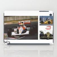 senna iPad Cases featuring Senna by Rassva