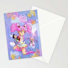Chibi Moon Stationery Cards