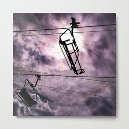 Sky Lift Metal Print