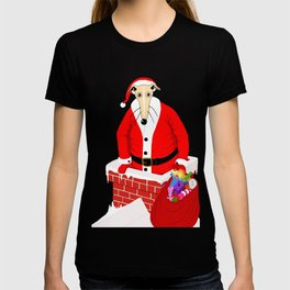 Christmas Whippet T-shirt