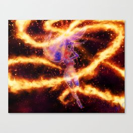 Mars Power Make Up! Canvas Print